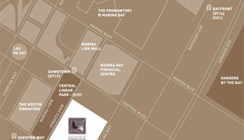 Marina One Residences Location Map Small Singapore